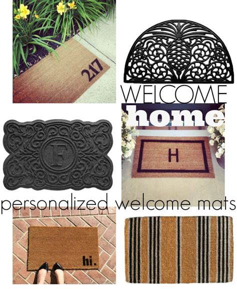 Cool Doormat by Warm Welcome Cool Welcome Mats Chic Everywhere