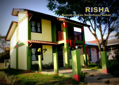 desain rumah risha rumah instan sederhana sehat punya hunian dengan rp 55