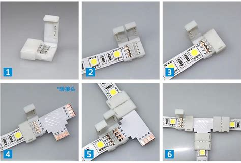 4 pin led light connectors with different types