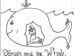 coloring page jonah and the whale jonah and the whale clip free jonah coloring pages