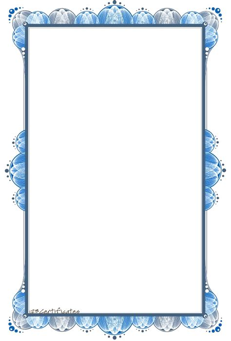 Border Template For Word Mughals Borders Templates