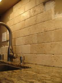 travertine tile backsplash granite backsplash ideas santa cecilia granite kitchen