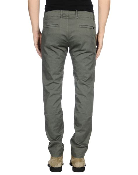 Island Casual 4 island casual trouser in green for
