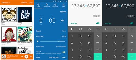 material design themes android material design themes coming to the samsung galaxy s6