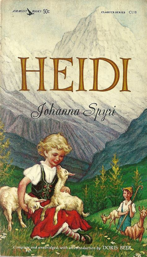 heidi books dr joe s book of the month johanna spyri s heidi