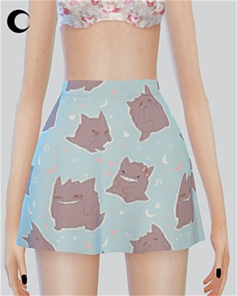 cute patterned skirts sims 4 custom content finds kalewa a ts4 patterned
