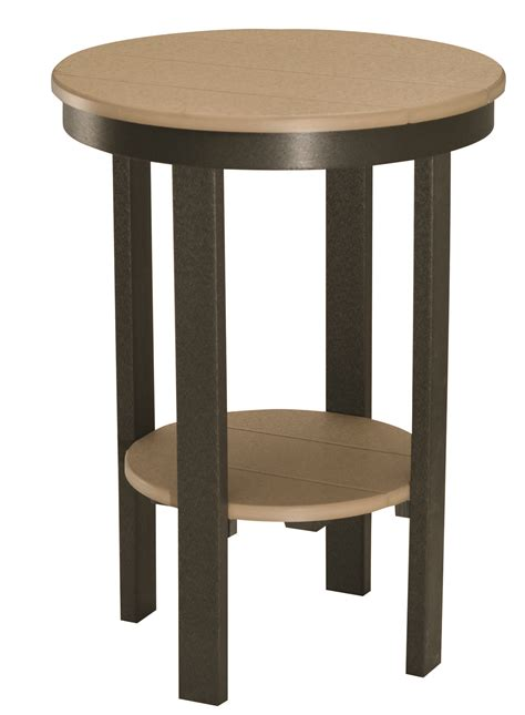 Height Of End Table by End Table Bar Height Jim S Amish Structures