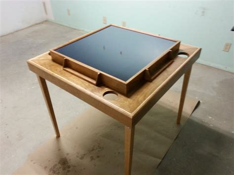 dominoes table by critterman lumberjocks com