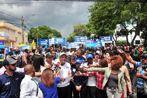 domsticas piden un nuevo aumento da a da profesores de la uasd marchan y piden aumento salarial