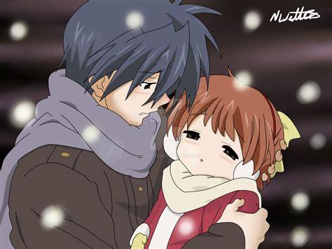 clannad anime tomoya tomoya and ushio clannad by loken 01 on deviantart