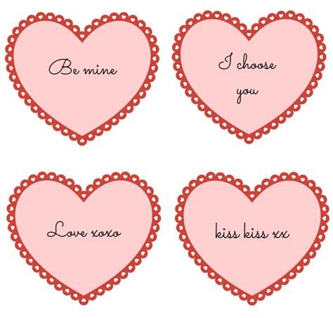 printable images of valentine hearts love heart printables for valentines day and sew we craft
