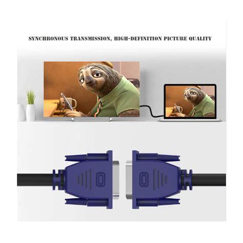 Kabel Vga To Vga 1 5 Meter pc k 193 bel vga vga k 225 bel 1 5 m 233 ter k 225 bel