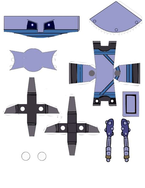 Castle Crashers Papercraft - industrialist castle crashers papercraft by jake by
