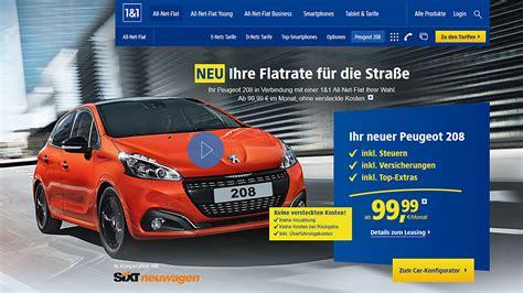 Auto Leasing Sixt by Neuwagen Flatrate Von Sixt Und 1 1 Autohaus De