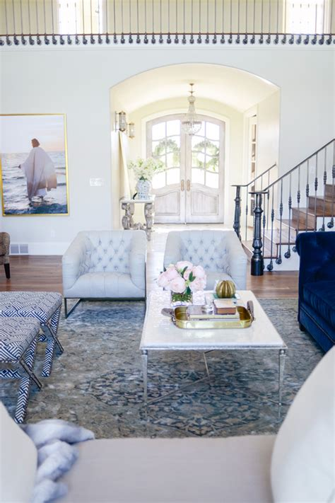 Light Blue Living Room Chairs Living Room Makeover Ideas Tips On Redesigning Your Home Shoproomideas