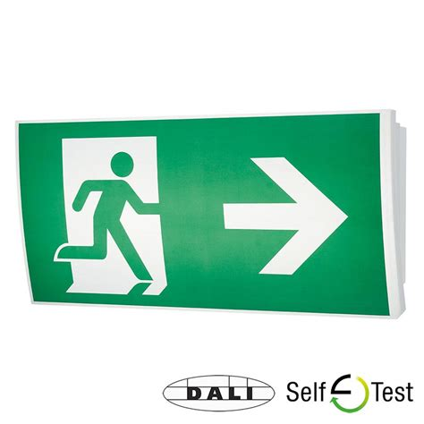 exit sign light box mezzolite led exit sign emergency lighting products ltd