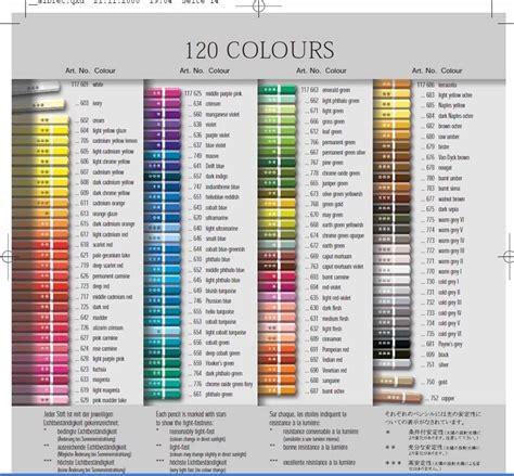 pitt colors faber castell albrecht durer watercolor pencil colors