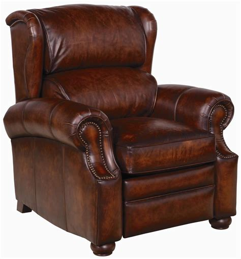 upholstered recliner chairs bernhardt upholstered accents warner leather recliner