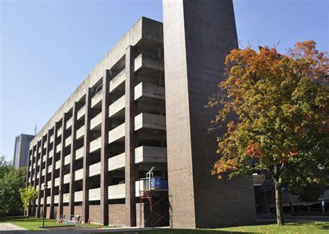 carleton university multi level underground parking lot