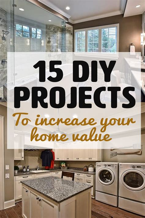 diy projects increase home value home