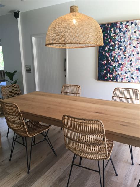Rattan Kitchen Furniture Rattan Dining Chairs That Are Chic For Your Rooms