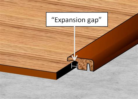 expansion gap laminate flooring wood floors