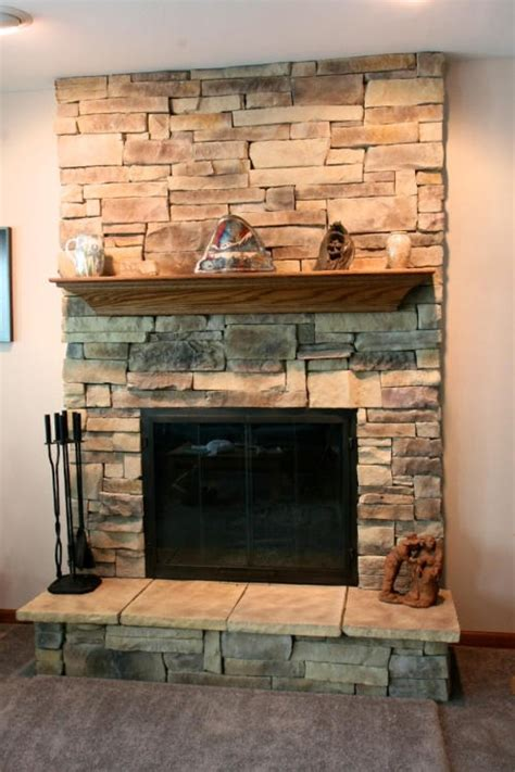 mountain stack stone fireplace 6 fireplaces pinterest