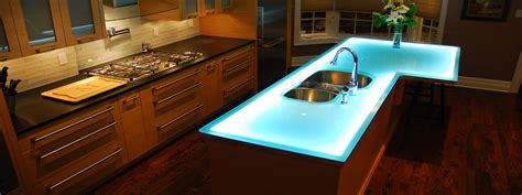 bar top materials modern kitchen countertops from unusual materials 30 ideas