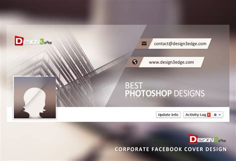 corporate facebook cover design psd design3edge com