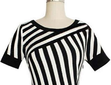 Dress Simple Hitam Putih dress garis garis hitam putih import terbaru