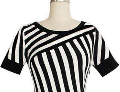 Dsjt217082262243 Dress Hitam Garis Dress Import dress garis garis hitam putih import terbaru myrosefashion