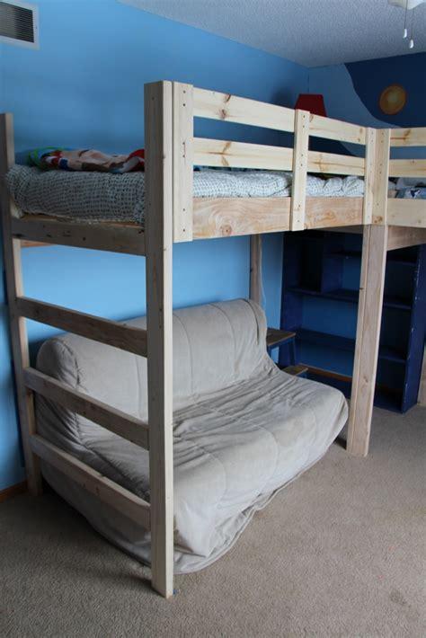 Boys Room Makeover Diy L Shaped Loft Beds Part I L Bunk Beds