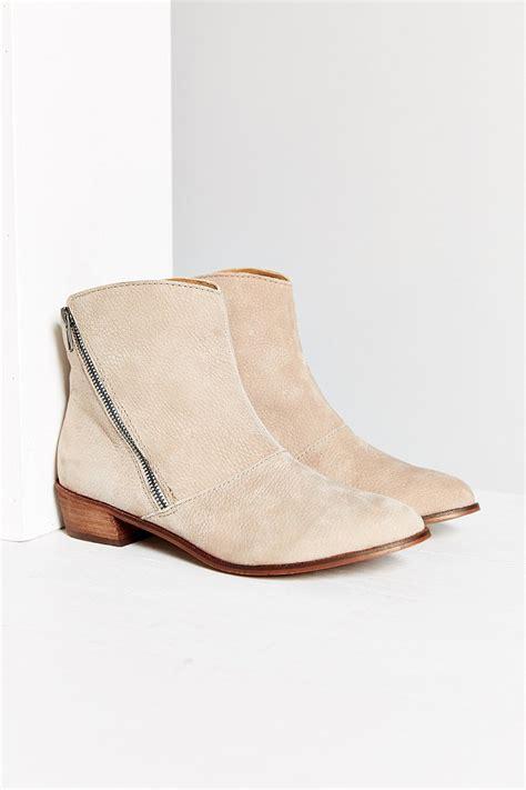 kelsi dagger shoes kelsi dagger verla ankle boot in brown taupe lyst