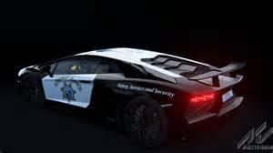 California Lamborghini Lamborghini Aventador California Highway Patrol