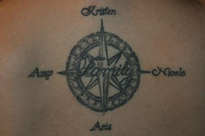 compass tattoo with family initials meaning 1000 images about tattoo on pinterest compass tattoo