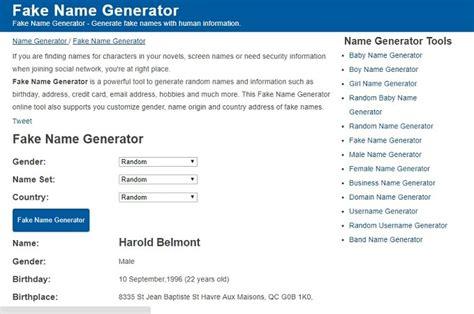 generate a random name fake name generator 7 best random us address generator websites techwhoop
