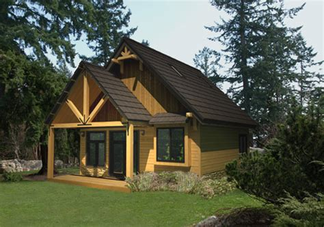 Cedar Cabin Plans by Cardinal Custom Cabins Garages Post And Beam Homes