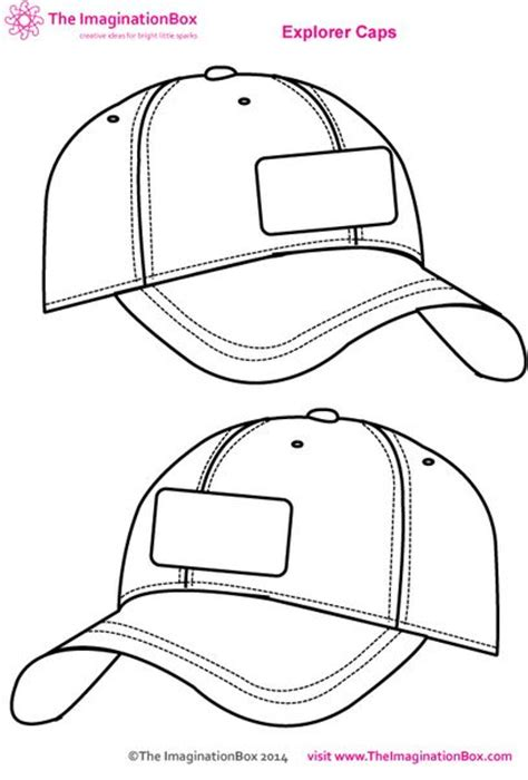 hat design template free template for your child to design their own baseball
