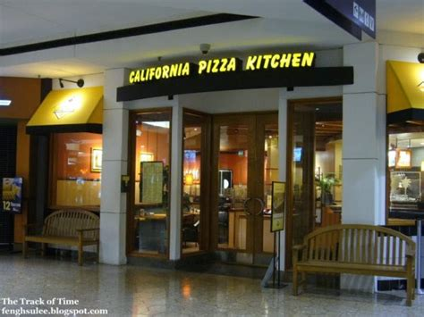 What Time Does California Pizza Kitchen california pizza kitchen the track of time