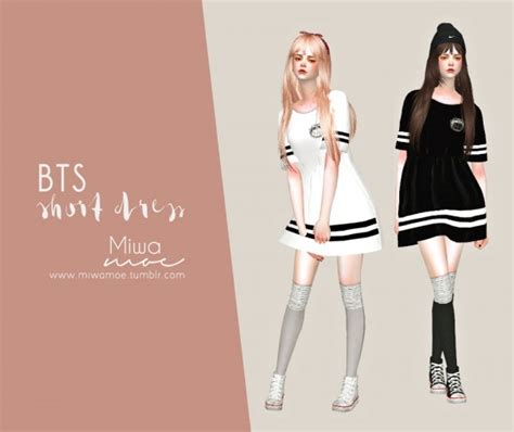 Decor Tiles And Floors by Miwamoe Bts Short Dress Sims 4 Downloads