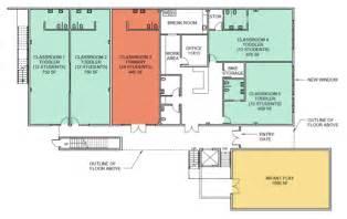 Rooftop Deck House Plans Emeryville Preschool Campus Leport Montessori Schools