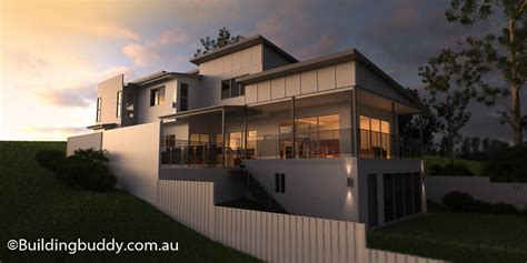 jackwood sloping lot house house plans by http www buildingbuddy com au home designs main sloping lot house plans connecting customers builders