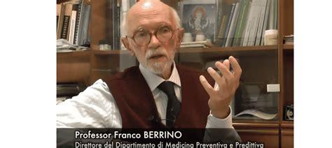 franco berrino alimentazione intervista al dottor franco berrino