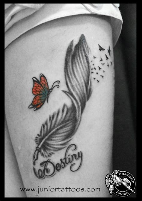 quill tattoo lettering feather quill pen with butterfly 2014 astron tattoos