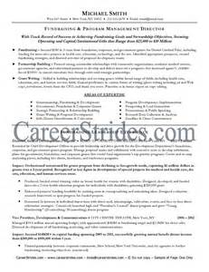 Fundraising Consultant Sle Resume by Retail Manager Resume Sle Career Advice 2016 Car Release Date