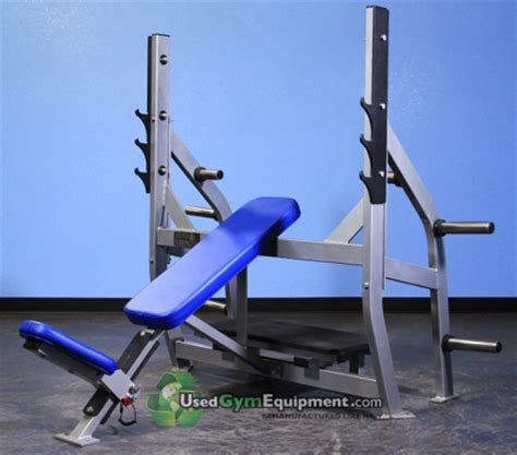 storable weight bench olympic incline bench with weight storage plate loaded gym