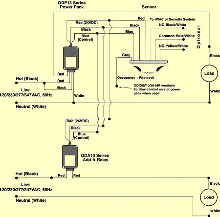 occupancy sensors wiring diagram sensors free printable wiring diagrams