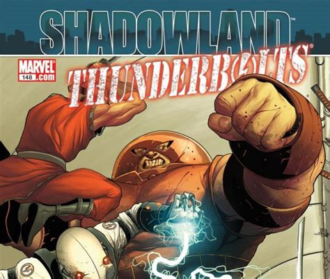 Komik Marvel Shadowland Thunderbolt thunderbolts 2006 148 comics marvel
