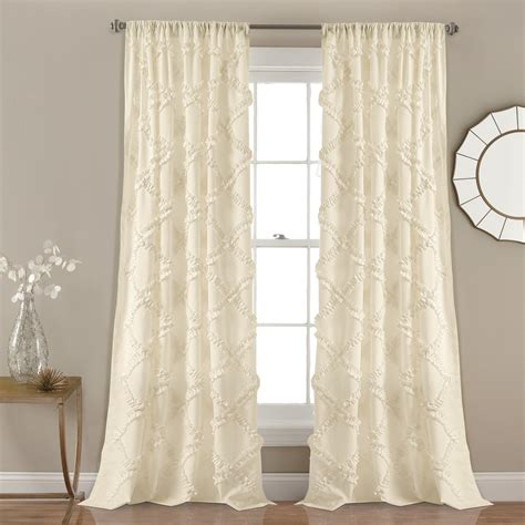 White Ruffle Curtains Gorgeous White Ruffle Curtains White Ruffle Curtains Ideas Lascuola
