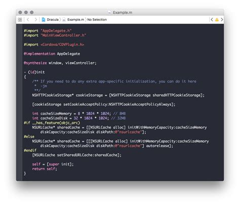 themes xcode dracula a dark theme for xcode and 50 apps